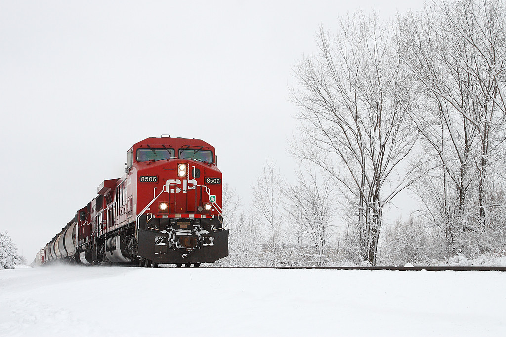 Canadian Pacific 8506 (GE AC4400CW) - Brookfield, WI
