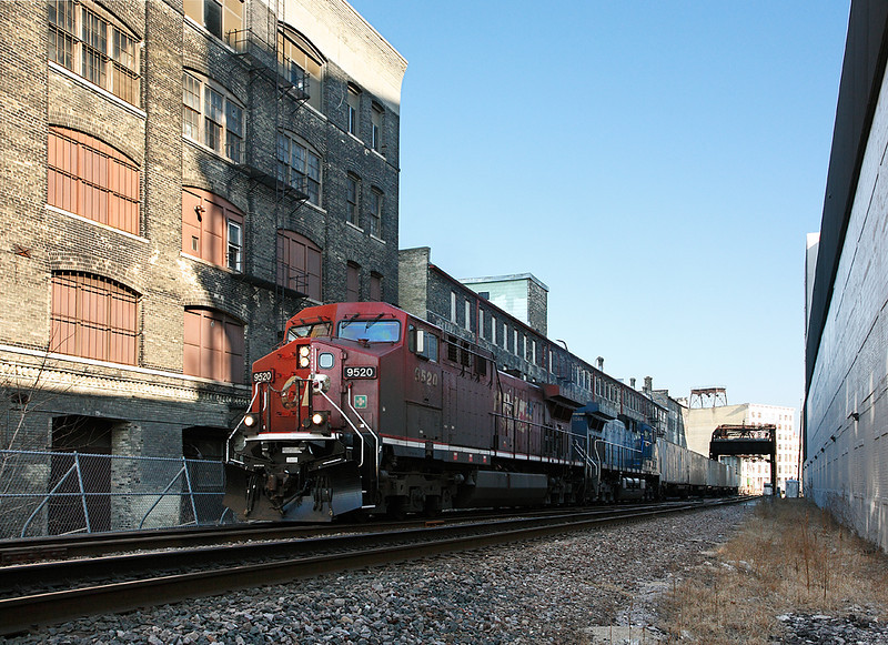 Canadian Pacific 9520 (GE AC4400CW) - Milwaukee, WI