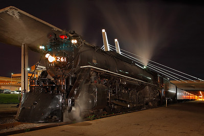Milwaukee Road 261 (American Locomotive Company 4-8-4) - Milwaukee, WI
