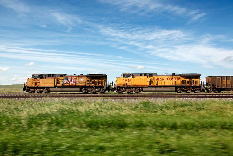 Union Pacific 5954 (GE AC44CCTE) - North Platte, NE