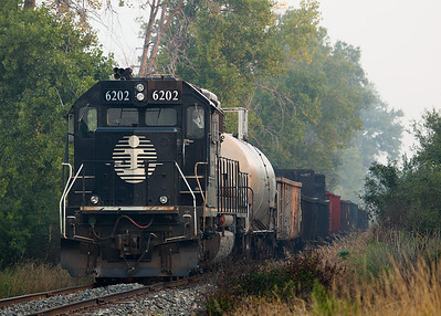 Illinois Central 6202 (EMD SD40-3) - Mequon, WI