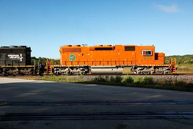 Elgin Joliet & Eastern 674 (EMD SD38-2) - Slinger, WI