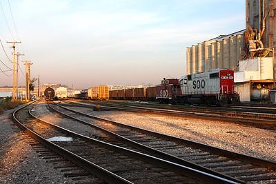 Soo Line 4442 (EMD GP38-2) - Muskego Yard (Milwaukee, WI)