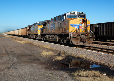 Union Pacific 5902 (GE AC44CCTE) - Somewhere in Nebraska