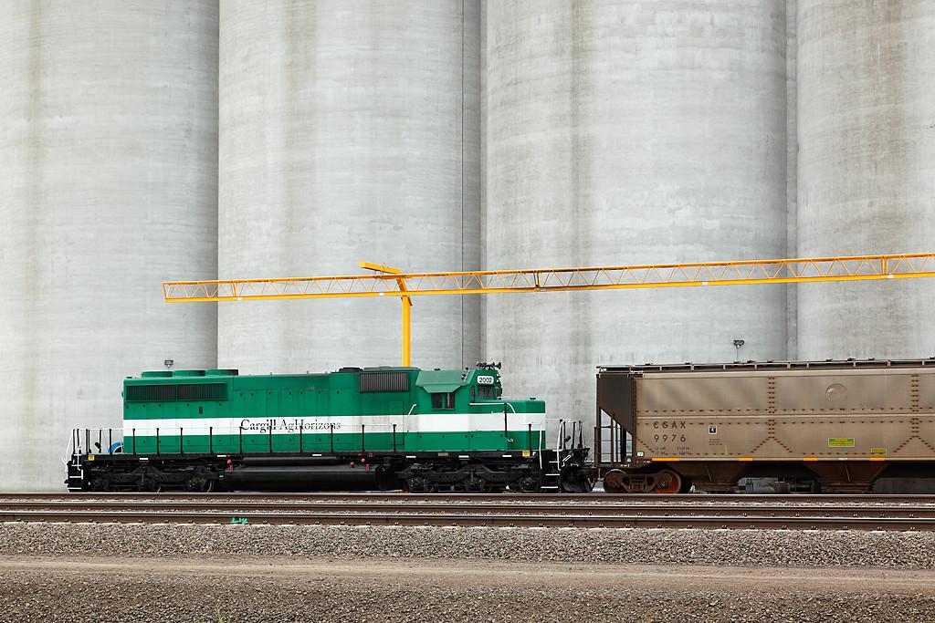 Cargill 2002 (EMD SD40-2) - Nebraska