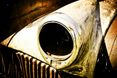 Old Truck Headlight