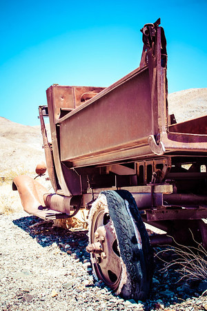 Rusty Truck out in the Desert