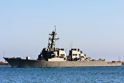US Navy Battle Ship