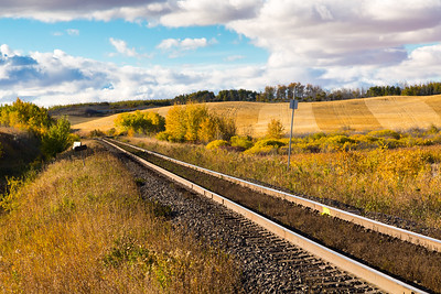 Railroad on the Prairies