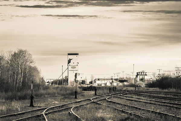 Train Tracks to Town