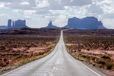 Highway North or Monument Valley