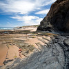 Monte Clerigo beach, town of Aljezur, district of Faro, region of Algarve, southwestern Portugal