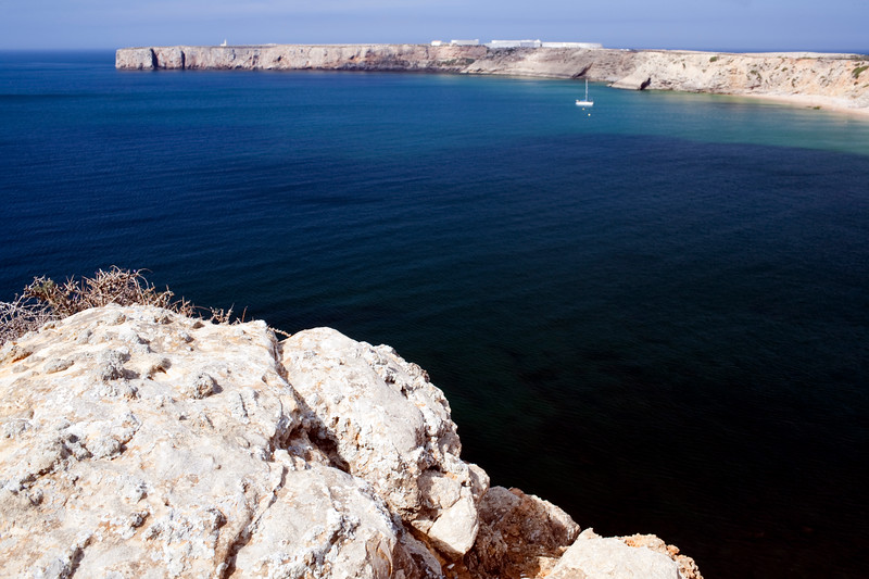 Mareta bay, town of Sagres, municipality of Vila do Bispo, district of Faro, region of Algarve, southwestern Portugal