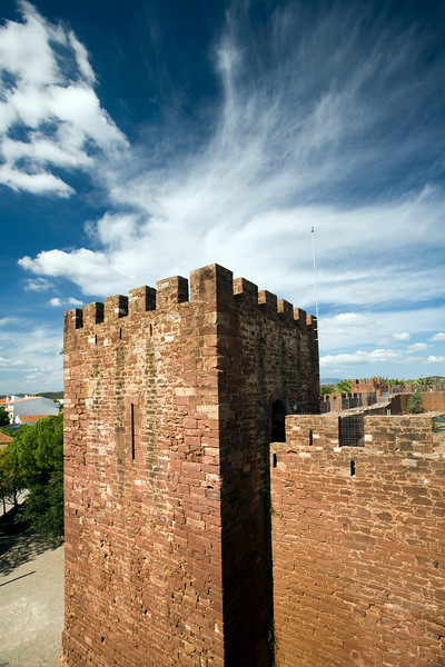Castle of Silves, district of Faro, region of Algarve, Portugal
