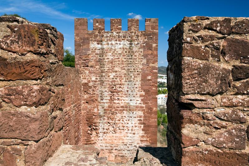 Castle of Silves, district of Faro, region of Algarve, Portugal