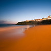 Peneco beach, town of Albufeira, district of Faro, region of Algarve, Portugal