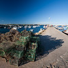 Lobster pots in the port, town of Sagres, municipality of Vila do Bispo, district of Faro, region of Algarve, southwestern Portugal