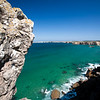 Coastline at Sagres, municipality of Vila do Bispo, district of Faro, region of Algarve, southwestern Portugal