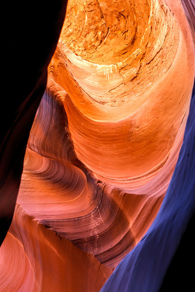 Walls of Antelope Canyon