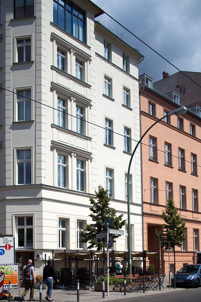 Building on Oranienburger Strasse, Berlin, Germany