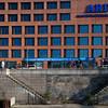 ARD-Hauptstadtstudio building by the Spree river, Berlin, Germany