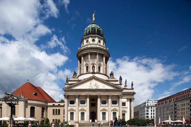 French Cathedral (Französische Dom) on Gendarmenmarkt square, Berlin, Germany