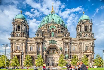 Berliner Dom (Cathedral) facade, Berlin, Germany