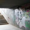 Graffiti on a passageway, Berlin, Germany