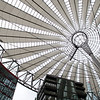 Canopy of Sony Center, Berlin, Germany