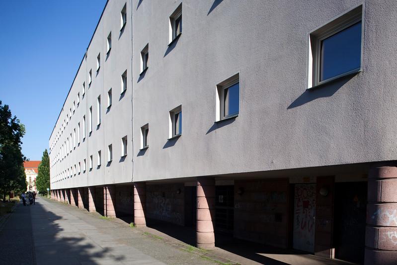 Perspective of E.T.A-Hoffmann-Promenade, Berlin, Germany