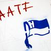 Stencil graffiti of Hertha BSC, Berlin, Germany