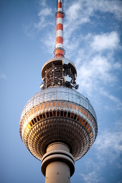 Top of the Television Tower, Berlin, Germany