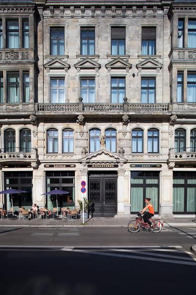Facade of Angleterre Hotel, Friedrichstrasse, Berlin, Germany