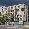Modern office building on Ebert street, Berlin, Germany
