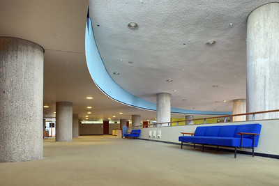 Interior of the House of World Cultures, Berlin, Germany