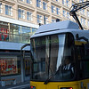 Tram on Alexanderplatz, Berlin, Germany