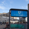 Underground entrance at Alexanderplatz, Berlin, Germany