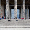 Portico and staircase of the Altes Museum, Berlin, Germany