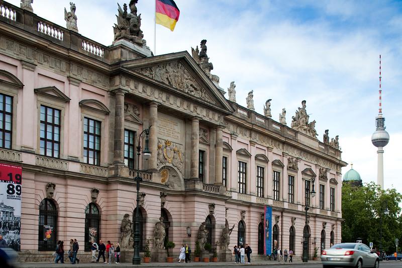 The German History Museum on Unter den Linden, Berlin, Germany