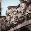 Architectonic detail from the Reichstag building, Berlin, Germany