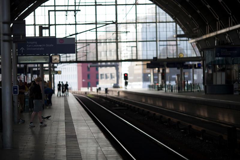 Alexanderplatz railway station. Berlin, Germany