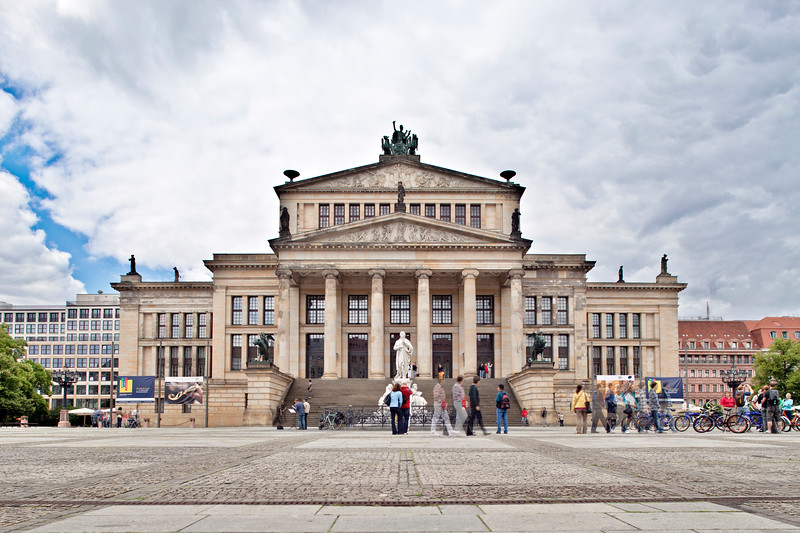 Konzerthaus (Concert Hall) on Gendarmenmarkt square,  Berlin, Germany