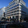 Modern building on the corner of Friedrichstrasse and Taubenstrasse, Berlin, Germany