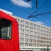 DB Regio train at Alexanderplatz railway station, Berlin, Germany