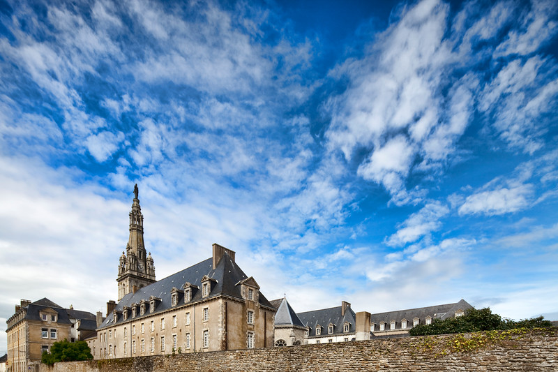 Sanctuary of Sainte Anne d'Auray, town of Sainte Anne d'Auray, departement of Morbihan, Brittany, France