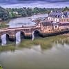 Saint-Goustan Port, Auray, Morbihan, Brittany, France.