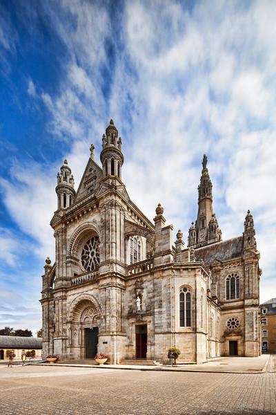 Basilica of Sainte Anne d'Auray, departement of Morbihan, Brittany, France