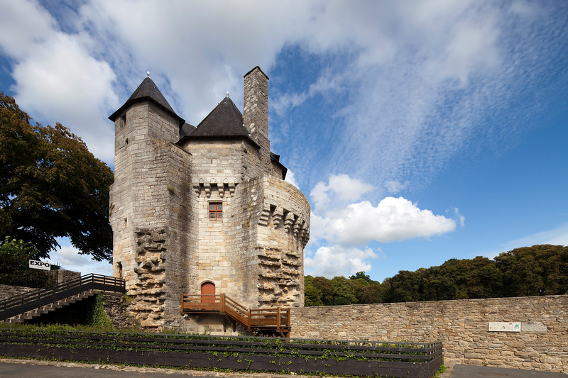 Connetable Tower, Ramparts of Vannes, Brittany, France