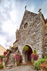 Chapel of The True Cross, town of La Vraie Croix, departament of Morbihan, region of Brittany, France