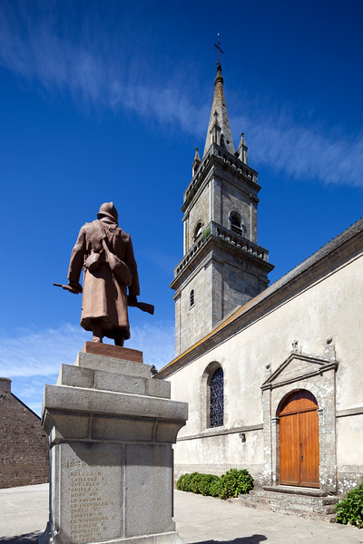 Saint Andre church, town of Ploemel, departament of Morbihan, Brittany, France